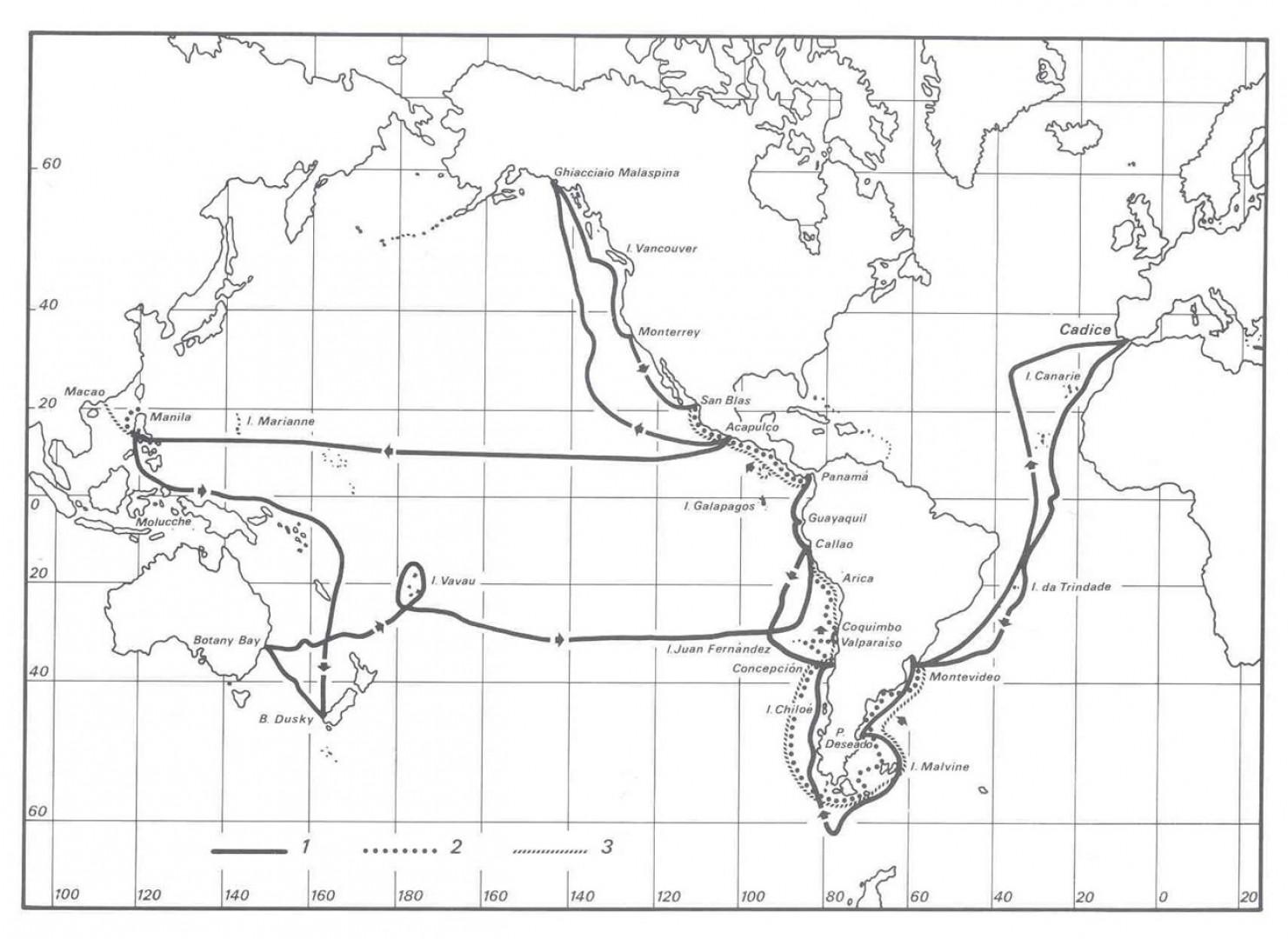 La Spedizione delle corvette Descubierta y Atrevida 1789-94