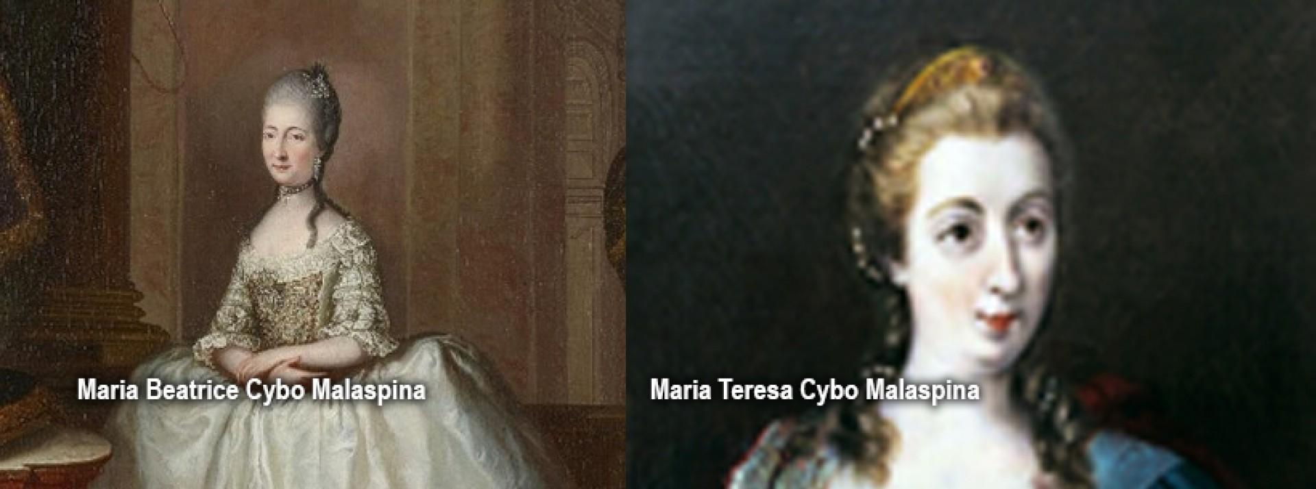 Maria Teresa e Maria Beatrice Malaspina: Duchesse di Massa, Modena e Reggio Emilia, Principesse di Carrara